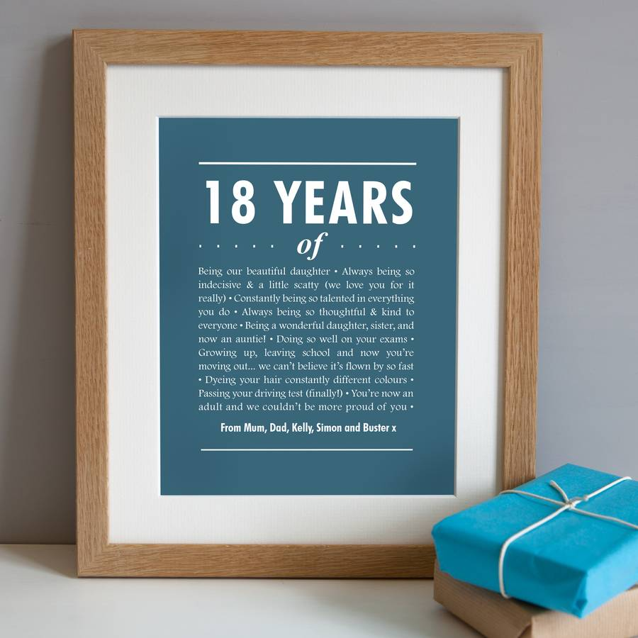 Diy 18th Birthday Gifts For Boyfriend: Best Gift Ideas For 18th Birthday