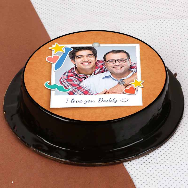 personalised cake for dad