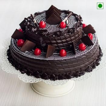 2 Tier Truffle Cake