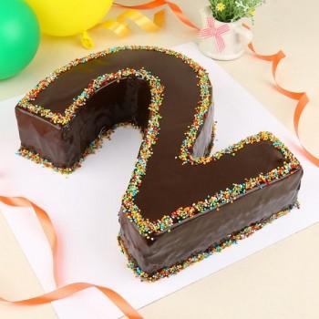 2 Number Cake