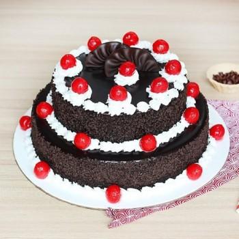 BlackForest Cake 2 Tier