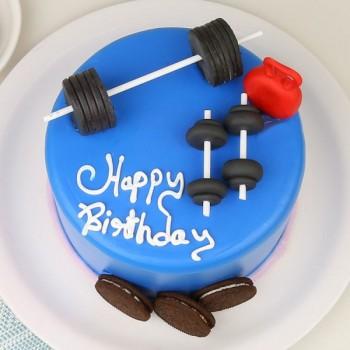 Gym Fitness Cake