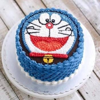 Doraemon Cartoon Cake
