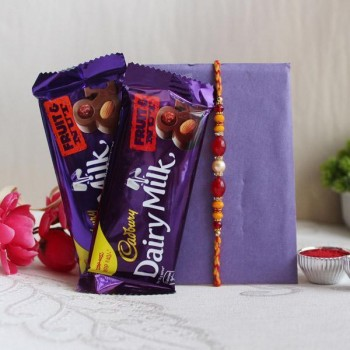 Rakhi with Fruit N Nut