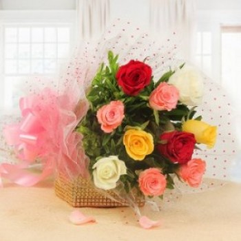 Mix Color Roses Bouquet