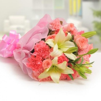 Exotic Bouquet of Flowers