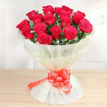Elegant Love - 18 Roses