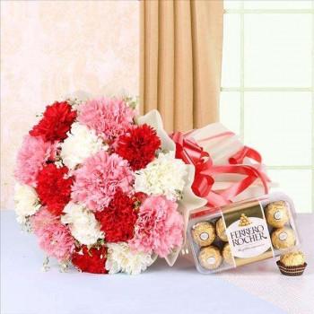 Impressive Carnations n Ferrero