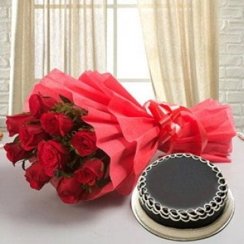 Red Roses and Cake