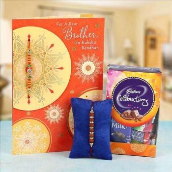 Rakhi, Greeting Card and Celebration