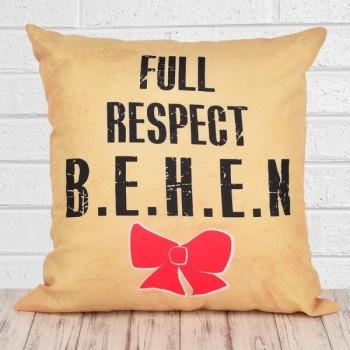 Full Respect Sister Cushion