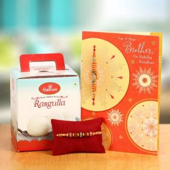 1 Rakhi Rasgulla n Card