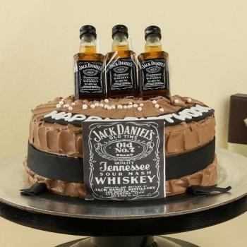 Jack Daniel Chocolate Cake