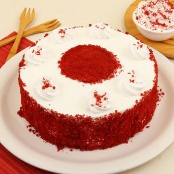 Red Velvet Eggless Cake