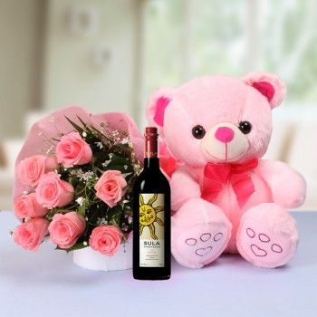 Pink Divine with Wine