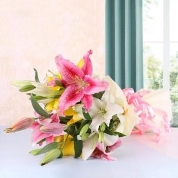 Asiatic Lilies Bouquet
