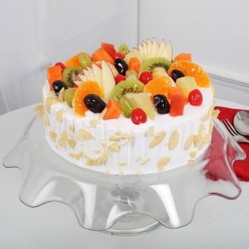 SugarFree Eggless Fruit Cake
