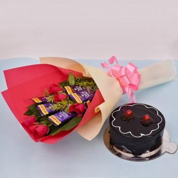 Roses Cadbury n Cake