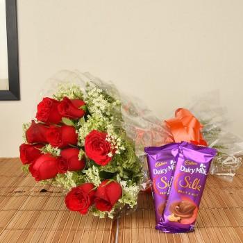 Red Roses n Silk