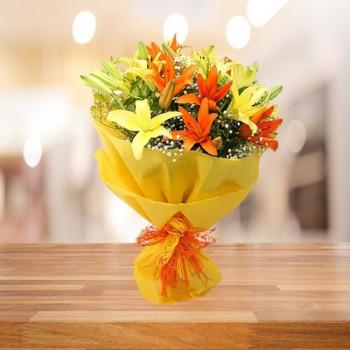 Mix Lilies Bouquet