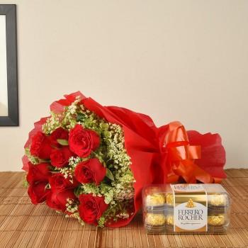 Red Roses n Ferrero