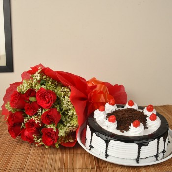 Red Roses n BlackForest