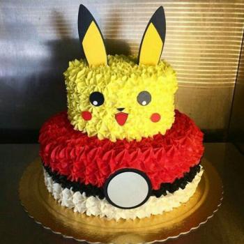 Pokemon 2 Layer Cake