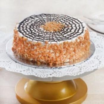 Butterscotch Cake Eggless